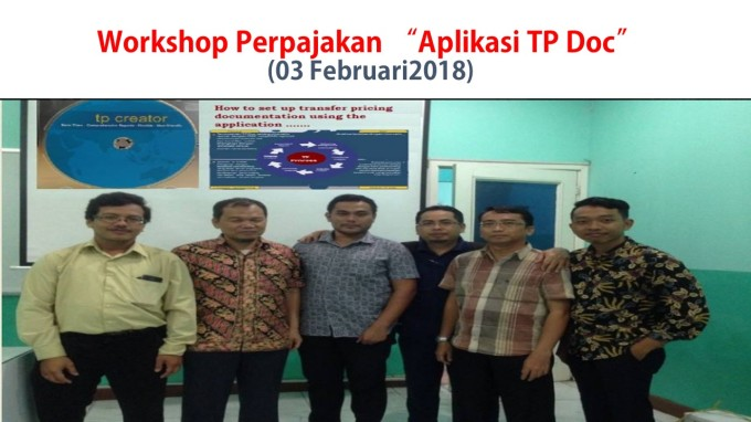 Workshop Perpajakan 03 Feb 2018